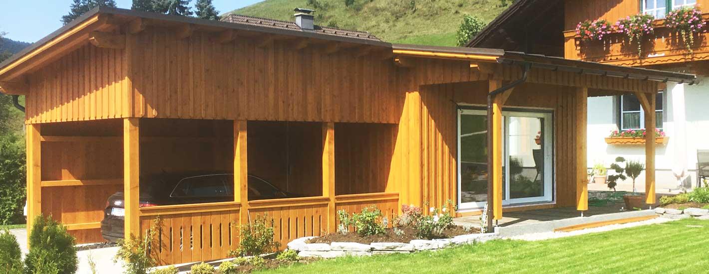 Zweckbauten aus Holz